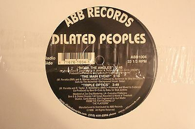 "Dilated Peoples - Work the Angles debut 12"" inc Alchemist Production"