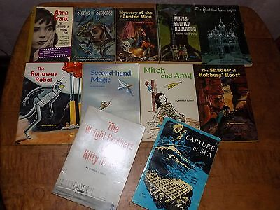 Lot of 11 vintage SBS books PB Scholastic Book Services