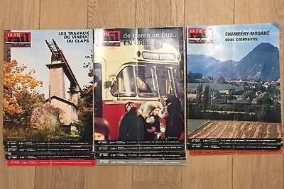 Lot 11 Magazines La Vie Du Rail 1976 Trains Chemins De Fer