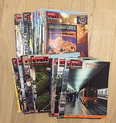 Lot 38 Magazines La Vie Du Rail 1977 Trains Chemins De Fer