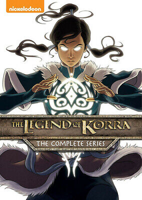 Legend Of Korra: The Complete Series - 8 DISC SET (2016, DVD NEW)