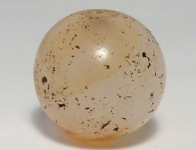 14.2mm ANCIENT RARE WESTERN ASIAN AGATE BEAD