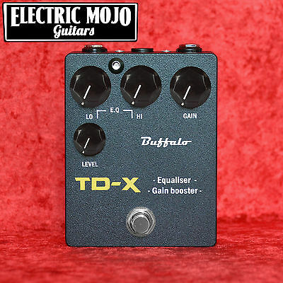 Buffalo FX TD-X Boost Tube Driver Overdrive Pedal