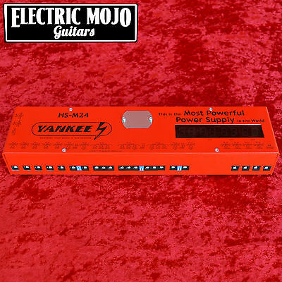 Yankee HS-M24 Power Supply 18 Isolated Outputs Effect Pedal