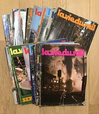 Lot 51 Magazines La Vie Du Rail 1978 Trains Chemins De Fer