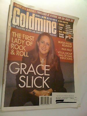 Goldmine Magazine December 4 1998 Vol 24 No 25 Issue 479 Grace SLICK Airplane
