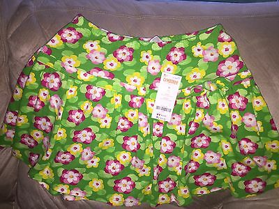 """NWT Gymboree """"Island Lily"""" Water Lily Skort Size 12"""