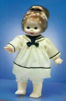 "Woopsie Outfit White Sailor With Navy Trim By Ideal For  14"" Doll"