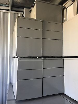 3 Drawer Steel Mobile 610Hx460Wx472D