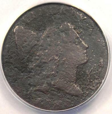 1795 Flowing Hair Liberty Cap Half Cent 1/2C Coin - ANACS VG10 Details
