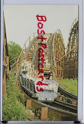 Kennywood Park-The Racer Twin Wooden Roller Coaster-Pittsburgh,pa