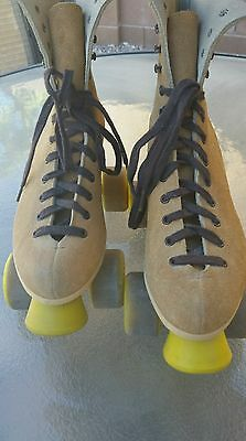 Riedell 130 M Suede Roller Skates Womens size 6-7