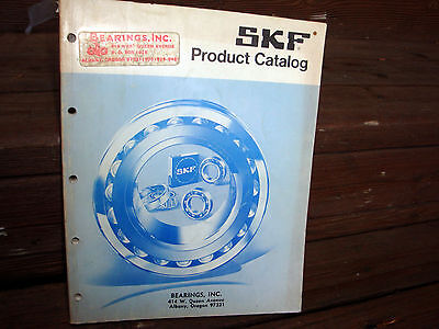 Lot of SKF Manuals Vintage Parts Catalogs Engineering Data Sperical Roller Lube