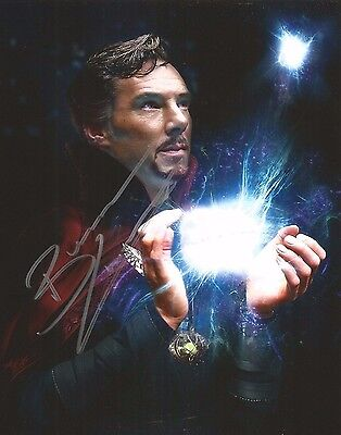 Signed Benedict Cumberbatch 8 x 10 Glossy Photo DOCTOR STRANGE Sweet
