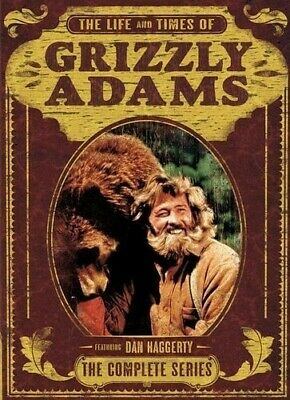Grizzly Adams: The Complete Series - 8 DISC SET (2016, DVD NEW)