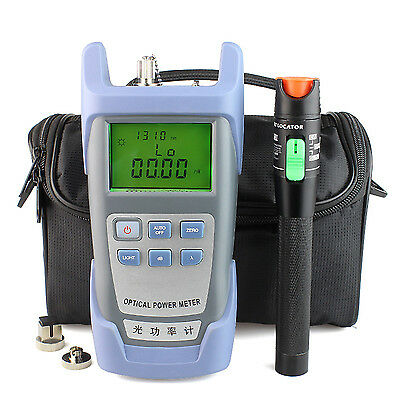 30 Mw Visual Fault Locator Optical Fiber+Optical Power Meter -70 ~ +6 dBm + Bag