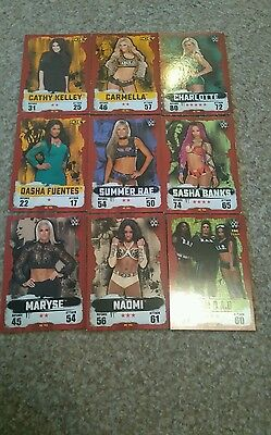 wwe slam attax takeover selling