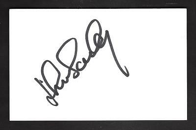 ****JOHN BAILEY**** SIGNED POSTCARD---POSTCARD SIZE APPROX 142mm x 89mm