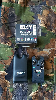 Delkim TXi Plus Blue led bite alarm used in mint condition