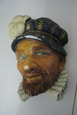 Vintage Collectible Bossons Chalkware head (head 1)