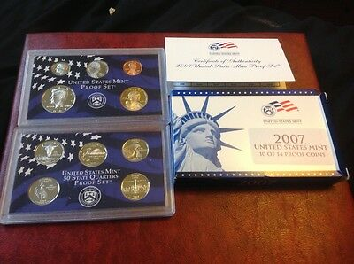 2007 United States Mint Proof set of coins