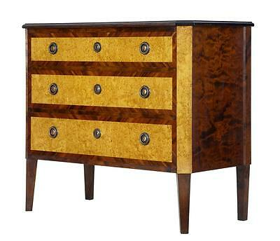 1920's BIRCH KINGWOOD COMMODE CHEST OF DRAWERS