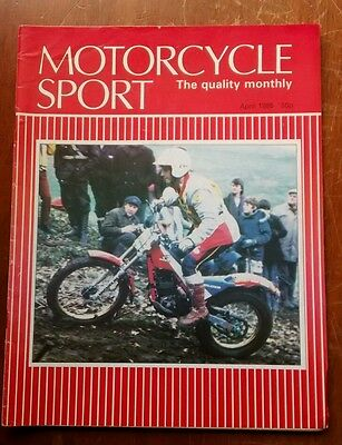 Motorcycle sport magazine April 1985
