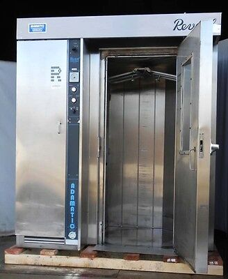 Revent rack oven revolving rotating natural gas with racks