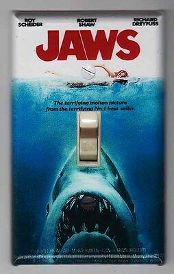 Jaws Movie Poster Light Switch Cover Plate