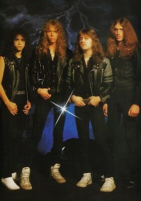 METALLICA Master Of Puppets PHOTO Print POSTER Cliff Burton Hardwired Shirt 045