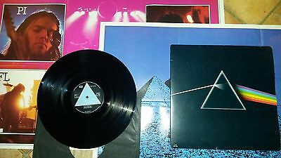 Dark Side of the Moon. Solid blue prism.1st press. A2/B2. Excellent vinyl.