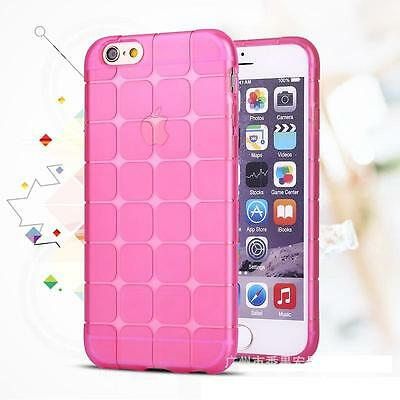 Silicone AntiShock pink Soft Gel cubee Cover For  iPhone 6/6s