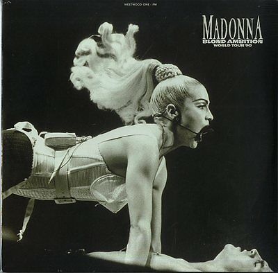 """MADONNA """"BLOND AMBITION""""  double lp limited sealed"""