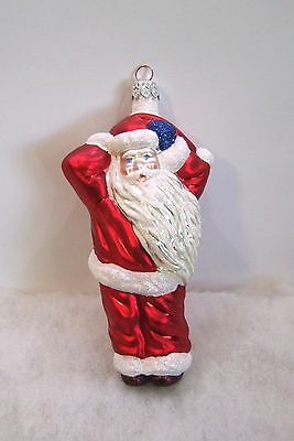 Vintage Slavic Treasures Ornament Santa MINT (RL4#10) NO BOX OR TAG
