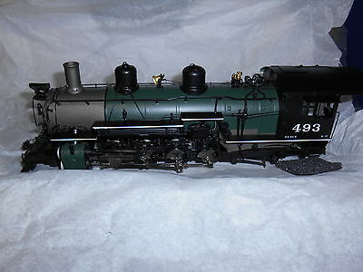Mountain Model Imports K-37 #DC1113-2 On3 Road #493 2-8-2  F.P. Green Boiler