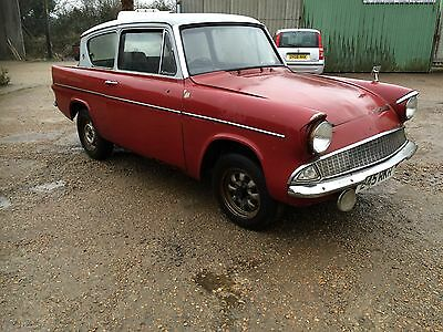 ford anglia 105e ..restoration or circuit car / classic hot rod  project ?