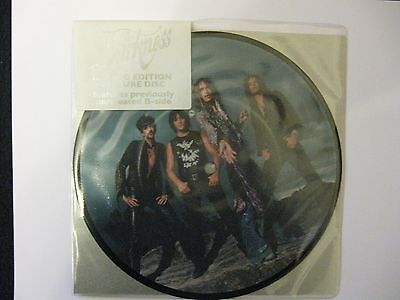 "The Darkness 7"" Limited Edition picture disc Love is Only a Feeling"