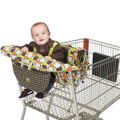 J is for Jeep 2-in-1 Shopping Cart and High Chair Cover, Universal Size, Baby Gr