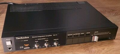Rare Vintage Technics SU-4 Stereo integrated Amplifier HiFi Separate with Phono