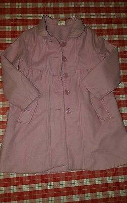 girls pink coat age 3-4 years