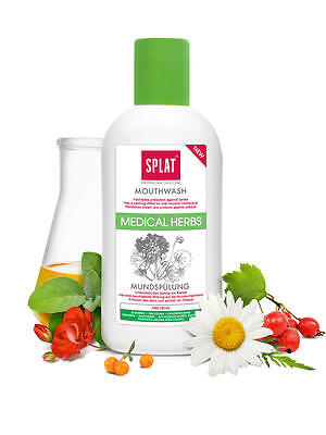 Splat Medical Herbs Mouth rinse without Fluoride With Camomile, Sandorn and Sage