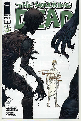 The Walking Dead #1 Emerald City Variant Signed by Tony Moore