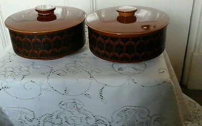 Two Hornsea England  Heirloom  Tureens With Lids