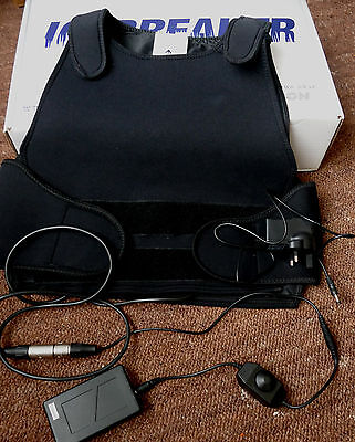 4 HOUR Heated Vest Top & Li-ion battery & heat control & charger COLD WEATHER