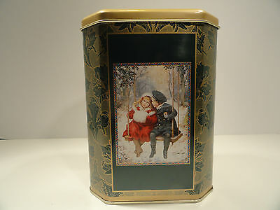 """Victorian Collection Tin """"A Bright and Joyous Christmas"""""""