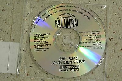 Rare Paul Mauriat TaiWan CD-The Most Beautiful World of Paul Mauriat (1965-1993)