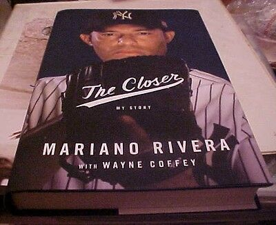 Last One! Signed Mariano Rivera Autograph Book The Closer New York Yankees !