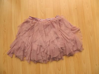 Next Girls Age 4 Years Pink Net Layer  Party Skirt