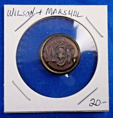 Woodrow Wilson T. R. Marshall Presidential Political Campaign Pin Pinback Button