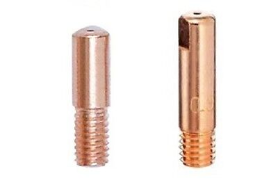 MIG Welding Contact Tips - M5 (MB14) and M6 - 0.6mm, 0.8mm, 0.9mm, 1.0mm, 1.2mm